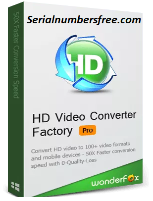 HD Video Converter Factory Pro 2020 Crack With Key + Keygen
