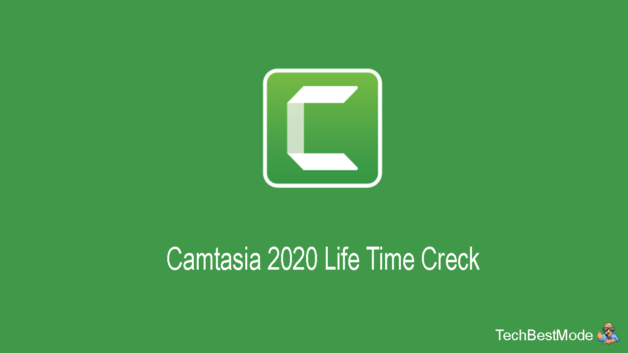 Techsmith Camtasia Pro 2020 Crack