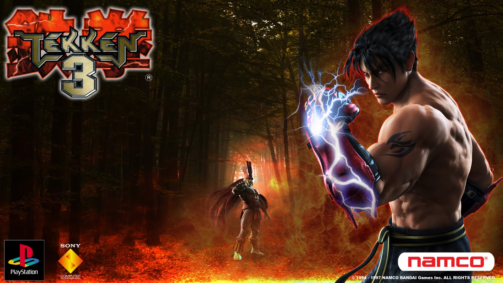 Tekken 3 PC Game Setup Free Download Full Version